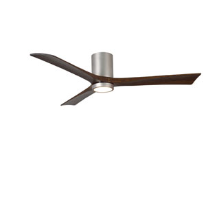 Irene-H Three Blade Brushed Nickel 60-Inch LED One-Light Hugger-Style Ceiling Fan