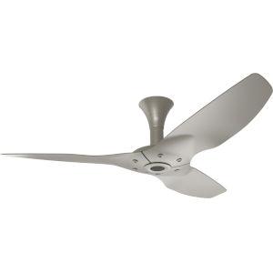 Haiku Satin Nickel 52-Inch Low Profile Outdoor Ceiling Fan