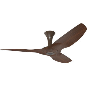 Haiku Oil Rubbed Bronze 52-Inch Low Profile Outdoor Ceiling Fan with Cocoa Bamboo Blades