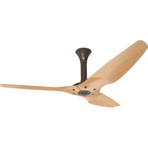 Haiku Oil Rubbed Bronze 60-Inch Outdoor Ceiling Fan with Caramel Bamboo Blades
