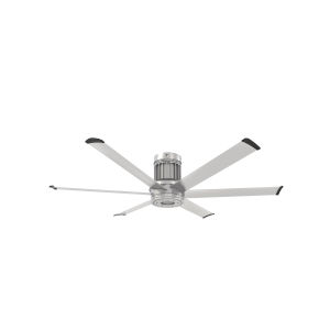 i6 Brushed Silver 60-Inch Direct Mount Outdoor Smart Ceiling Fan