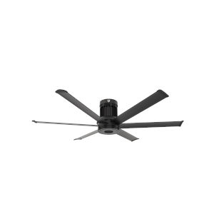 i6 Black 60-Inch Direct Mount Outdoor Smart Ceiling Fan