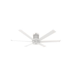 i6 Matte White 60-Inch Direct Mount Outdoor Smart Ceiling Fan