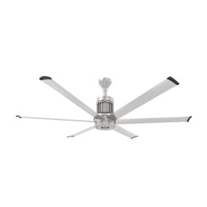 i6 Brushed Silver 72-Inch Outdoor Smart Ceiling Fan