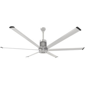 i6 Brushed Silver 84-Inch Outdoor Smart Ceiling Fan