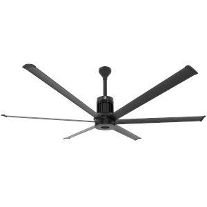 i6 Black 84-Inch Outdoor Smart Ceiling Fan