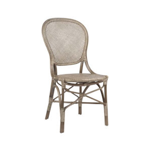 Rossini Taupe Gray Dining Side Chair