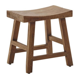 Charles Natural Brown Stool