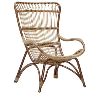 Monet Antique High Rack Lounge Chair