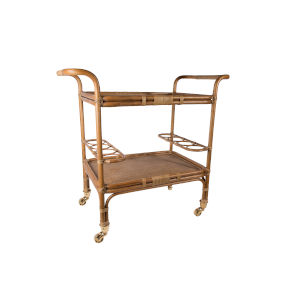 Carlo Antique Bar Cart