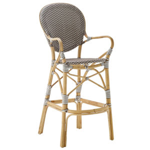 Isabell Gray and Cappuccino Bistro Bar Stool