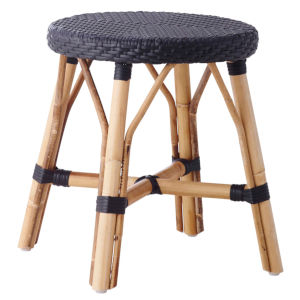 Simone Black Stool