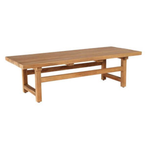 Julian Natural Brown Outdoor Coffee Table