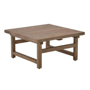 Alfred Natural Brown Square Coffee Table