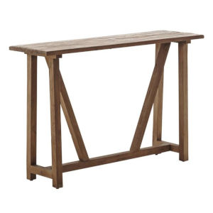Lucas Natural Brown Console Table