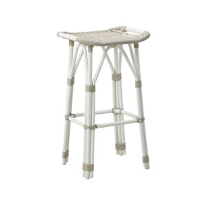 Salsa Dove White Outdoor Bar Stool