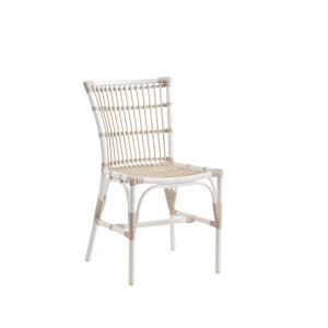 Elisabeth Dove White Outdoor Side Chair