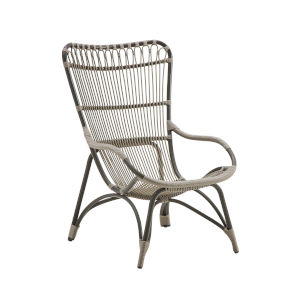 Monet Moccachino Outdoor Highback Chair