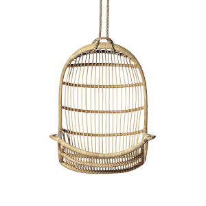 American Natural Hanging Rattan Chair