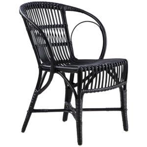 Wengler Polished Black Chair
