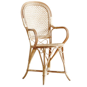 Fleur Polished Natural Chair