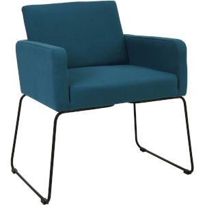 Jolena Teal Dining Chair