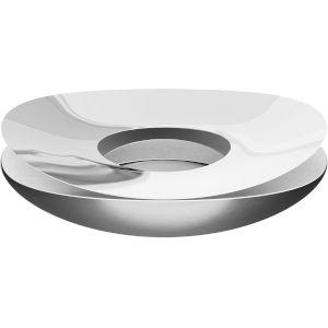 Slice Polished Silver Bowl