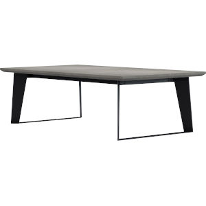 Amsterdam Gray Concrete Coffee Table