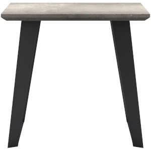 Amsterdam Gray Concrete Outdoor Side Table