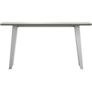 Amsterdam White Sand Concrete Outdoor Console Table