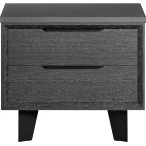 Amsterdam Gray Oak Nightstand