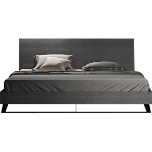Amsterdam Gray Oak King Bed