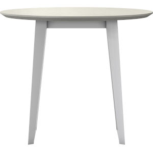 Amsterdam White Sand Concrete Outdoor Bistro Table