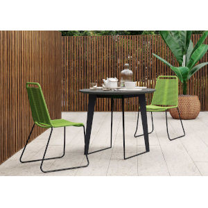 Amsterdam Gray Concrete Outdoor Bistro Table