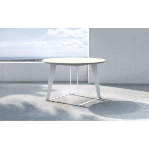 Amsterdam White Sand Concrete Dining Table