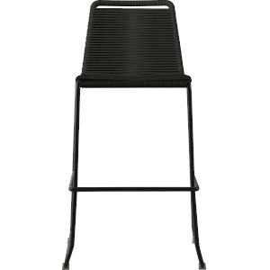 Barclay Black Cord 42-Inch Outdoor Barstool