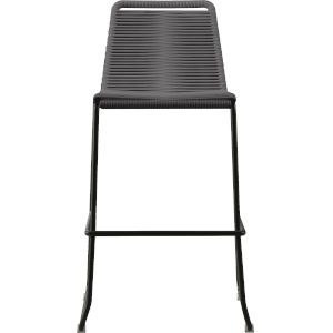 Barclay Light Gray Cord 42-Inch Outdoor Barstool