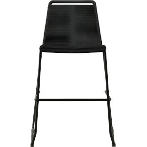 Barclay Black Cord 39-Inch Outdoor Counter Stool