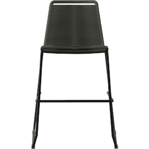 Barclay Dark Gray Cord 39-Inch Outdoor Counter Stool