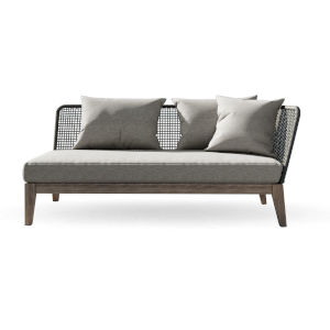 Netta Outdoor Right Arm Sofa