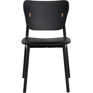 Emi Black Oak Dining Chair