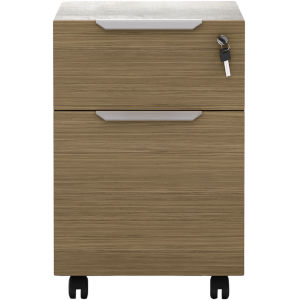 Broome Latte Walnut 18-Inch Lateral File Cabinet