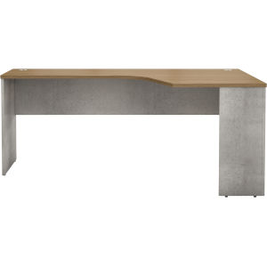 Broome Latte Walnut 71-Inch Left Corner Desk