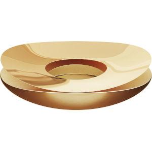 Slice Polished Gold Bowl