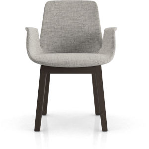 Mercer Gibraltar Fabric Dining Arm Chair