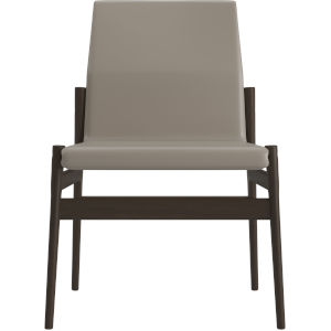 Stanton Castle Gray Eco Leather Dining Chair