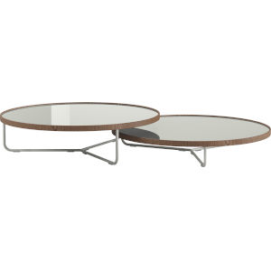 Adelphi Ice Glass Coffee Table