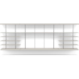 Bayard Chateau Gray Wall Unit