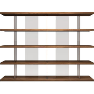 Beekman Walnut Bookcase