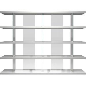 Beekman Glossy White Bookcase